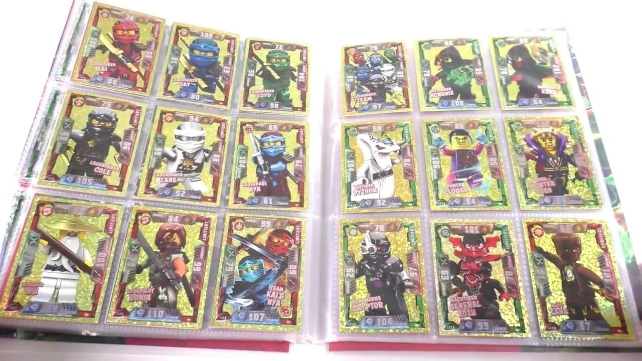 Lego Ninjago Trading Card Game Mappenupdate 4 Alle 216 Karten Alle 18 Limitierte Karten
