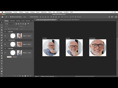 Créer une photo de profil avec Photoshop