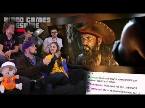 Assassin's Creed IV Reveal! - Pre PAX Paddy's Day Show and Trailer! - Part 2