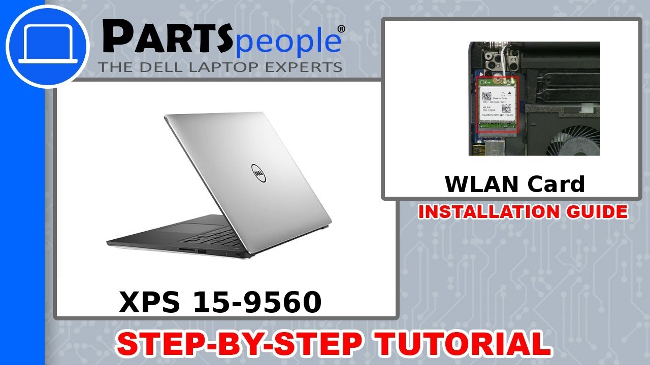 Dell XPS 15-9560 (P56F001) WLAN Card How-To Video Tutorial