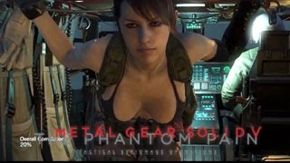 Metal Gear Solid 5 The Phantom Pain Quiet Sexy Moves