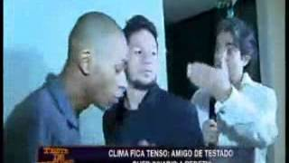 CONFUSÃO NO TESTE DE FIDELIDADE - 2013 - JOÃO KLEBER