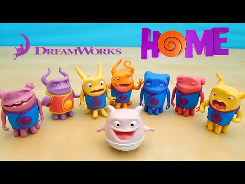 Dreamworks Movie Home Mood Figures Toys Oh Captain Smek