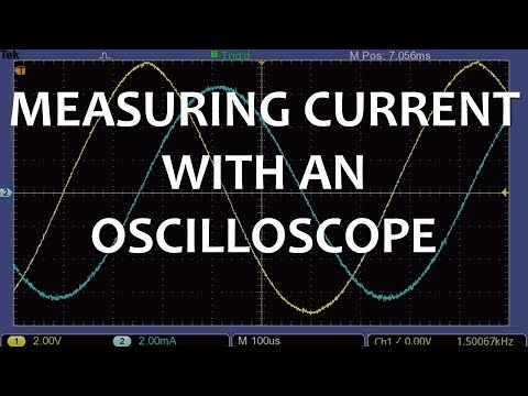 Measuring Current with an Oscilloscope (Part 1 of 2)