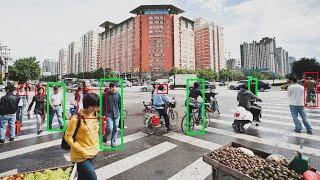 Überwachung in China: Zwei Schritte - und die Software weiß, wer Du bist