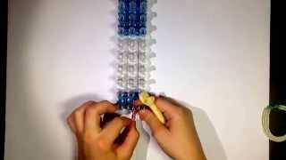 1 урок плетения из резинок.