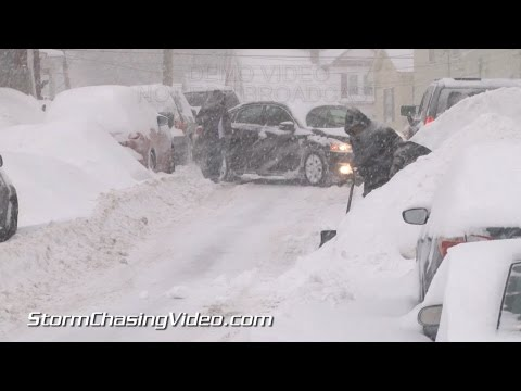 2/2/2015 Lowell, MA Heavy Snows