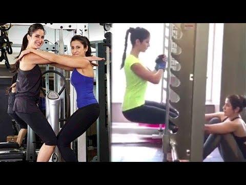 Katrina Kaif's HOT Workout For Tiger Zinda...