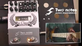 Two Notes 'Le Clean' Preamp Pedal Demo - Tom Quayle