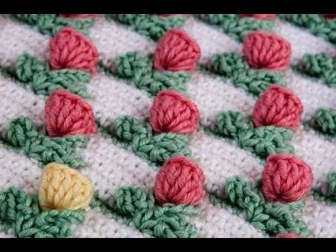 Crochet Stitches Simplicity Patterns 2 - YouTube
