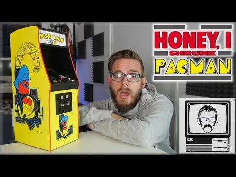 Pacman 1/4 Scale Arcade Machine | Nostalgia Nerd