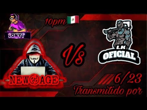 NEW AGE 🆚 LK OFICIAL - YouTube