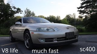 CAR REVIEW: 1993 Lexus SC400