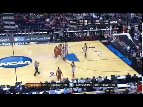 Cincinnati Vs. Texas NCAA 1st Round 2012