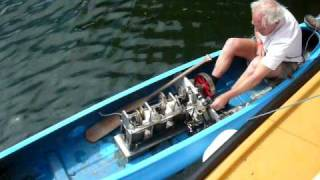 Stirling Engine Powered Canoe thumbnail
