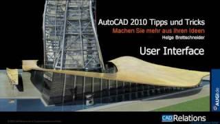 Autocad 2010: Neuerungen In Der Oberfläche