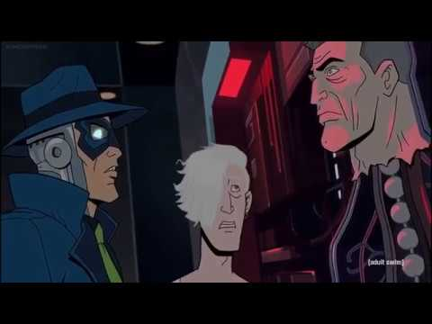 Blue Morpho and Dr. Venture Chat