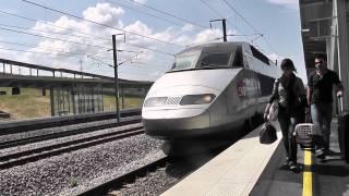 Tramway de Reims (4) - Gare Champagne TGV + TER