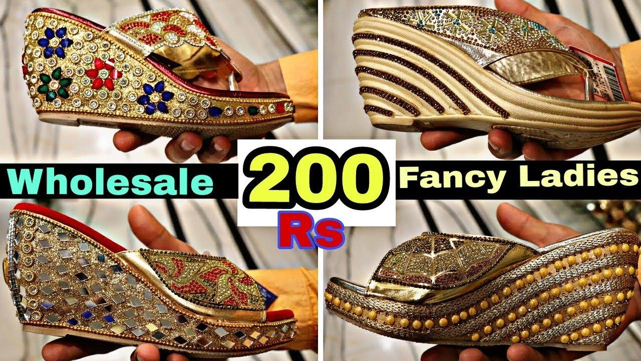 97e6d342316 Fancy Wholesale सुंदर जूते केवल लड़कियों के लिए 200 रुपया से    Fancy Show  collection