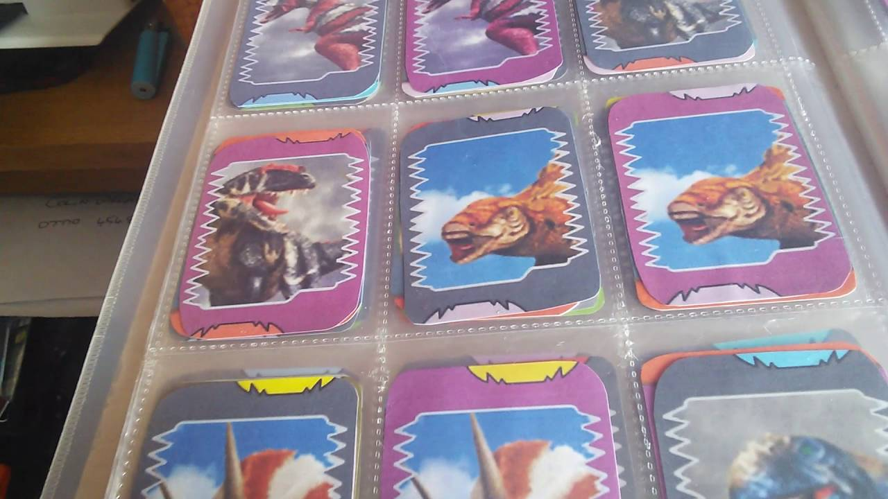 Dinosaur King anime card collection COMPLETE DINO SETS. - YouTube