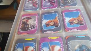 Dinosaur King anime card collection COMPLETE DINO SETS.