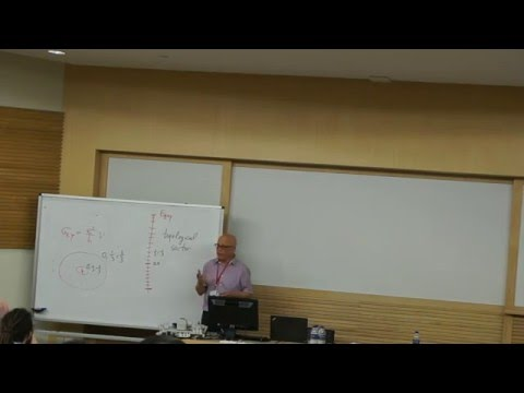 Andy Stern: Topological states of matter and Majorana fermions (second lesson)