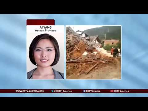 Deadly 6' 1' Earthquake strikes Yunnan Province in China killing Hundreds (Aug 03, 2014)