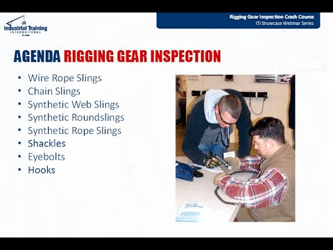 Rigging Gear Inspection Crash Course Fixer - YouTube