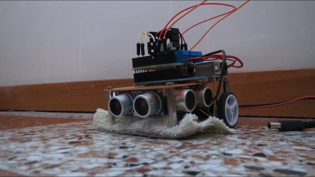 Arduino Cleaner Bot Youtube