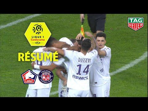 LOSC - Toulouse FC ( 1-2 ) - Résumé - (LOSC - TFC) / 2018-19