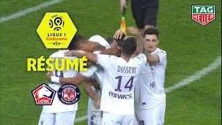 LOSC - Toulouse FC ( 1-2 ) - Résumé - (LOSC - TFC)