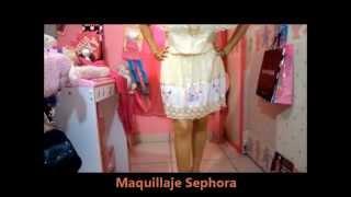 outfit mini vestido mexicano bordado beige