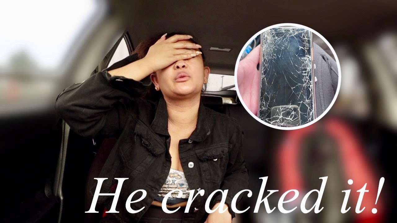 He Broke His Phone!