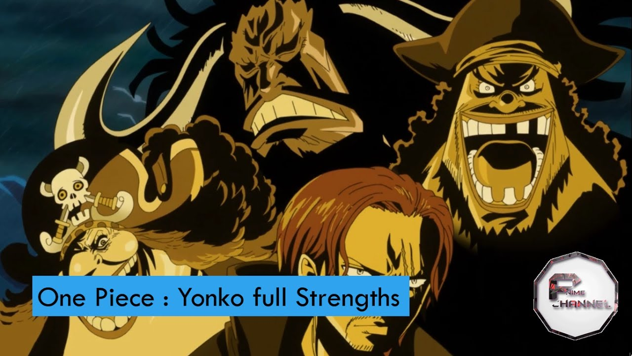 One Piece Emperors Strength and Bounty Analysis