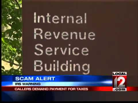 IRS Warning Phone Scam Alert