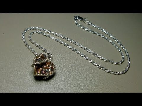 Valentine's Day Special: Bismuth Heart Pendant