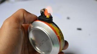 cara membuat korek api kaleng edisi 2