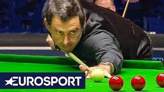 Ronnie O'Sullivan 147 Highlights   English Open 2018   Snooker   Eurosport
