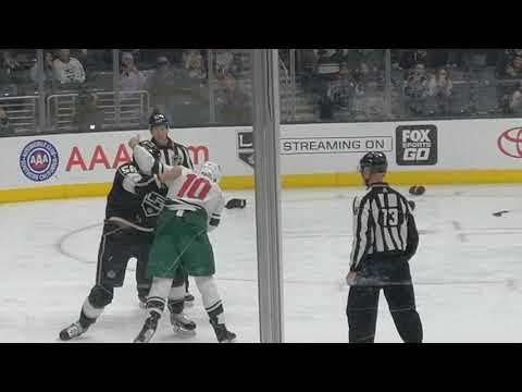 L.A. Kings 12/5 vs Minnesota Wild. Fight between Stewart and MacDermid