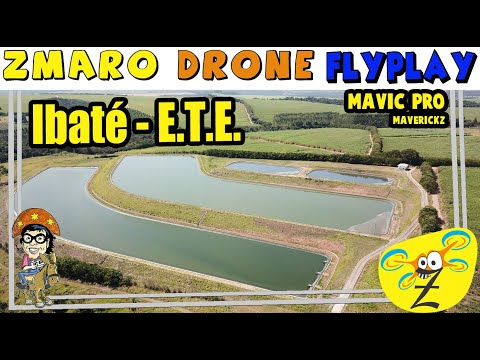 Zmaro FlyPlay Com Drone Mavic Pro (MaverickZ) Em Ibaté Na Estação De Tratamento De Esgoto