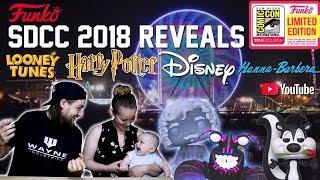 SDCC 2018 Funko Exclusives | Disney | Harry Potter | Looney Tunes | Hanna Barbera | Youtube