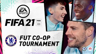 🔵  Azpilicueta 🆚  Mendy 🆚  Gilmour 🔵 | FUT co-op Tournament | FIFA 21