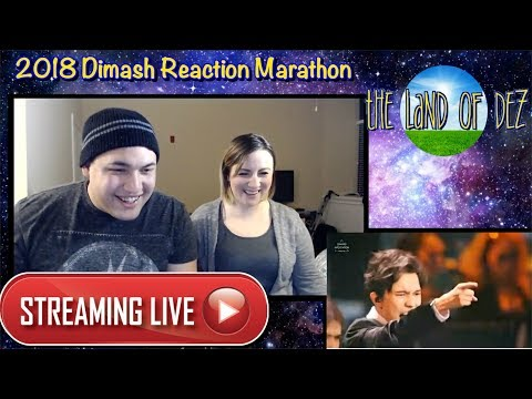 LIVE: 2018 DIMASH REACTION MARATHON DAY 2 (LIVE REACTION) 9PM EST