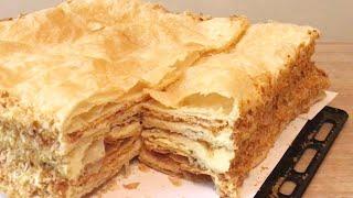 Տորթ Նապոլեոն ՇԱԱԱՏ Համեղ Торт Наполеон Mille Feuille Napoleon Cake Recipe