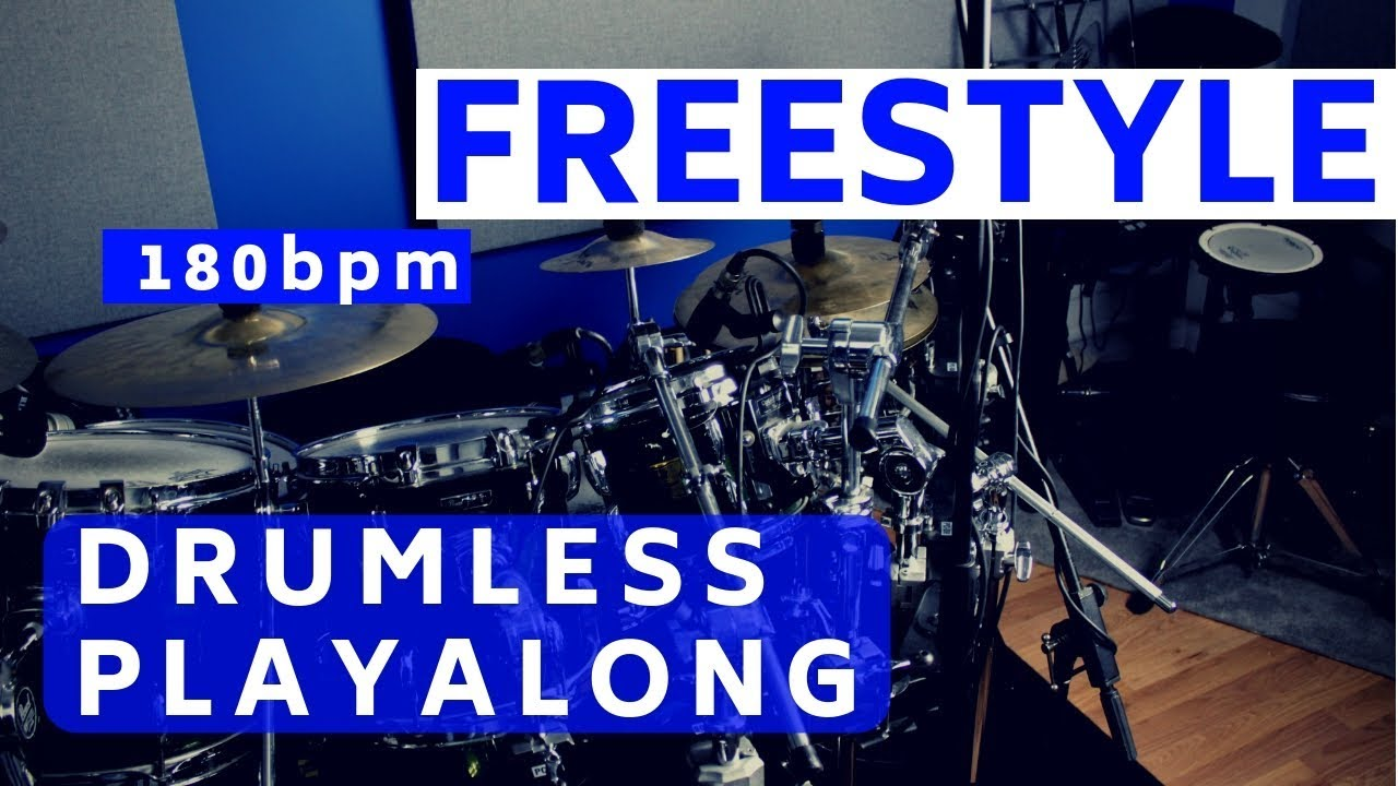 Freestyle Drumless Track | Total Drummer - Online Drum Lessons
