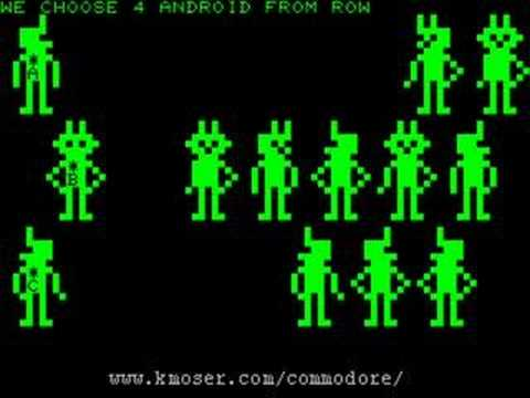 20 Games That Defined the Commodore PET - YouTube