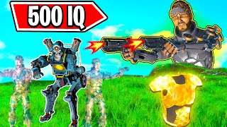 *CRAZY 500 IQ OUTPLAYS* - NEW Apex Legends Funny & Epic Moments #160