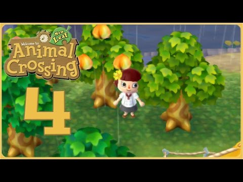 Planting Perfect Peaches for Peach Jam!! • Animal Crossing: New Leaf - Episode #4