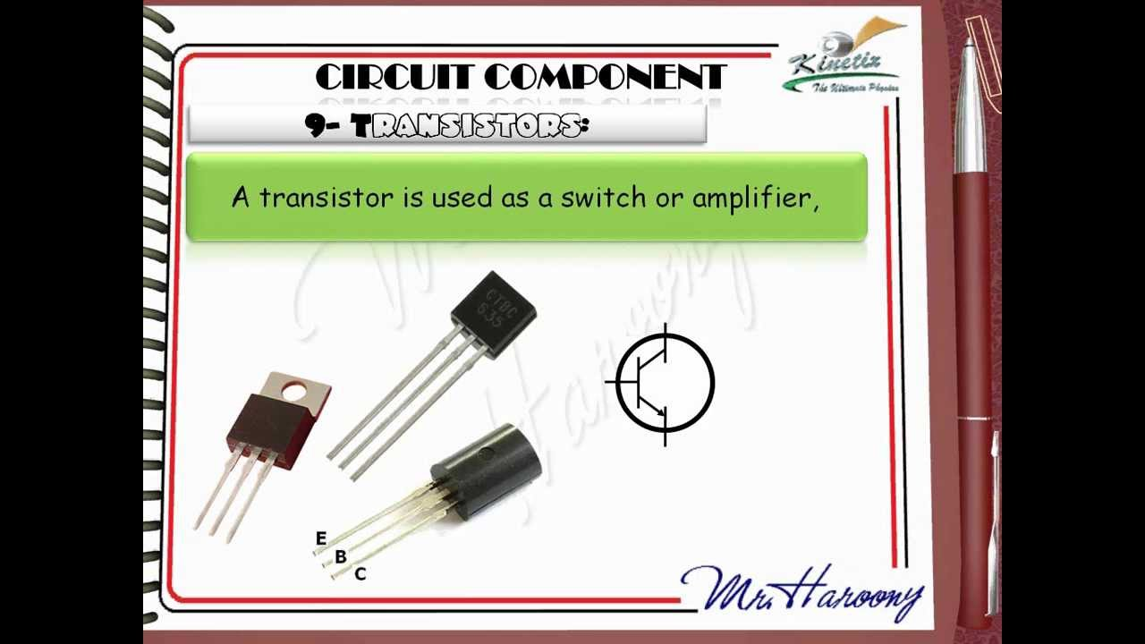 Ch3l8 Circuit Components Full Eng Youtube Reed Relay Symbol