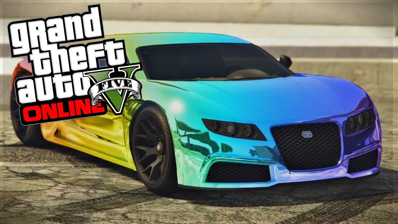 Gta 5 online top 5 paint jobs sexy car paint jobs best for Best car paint